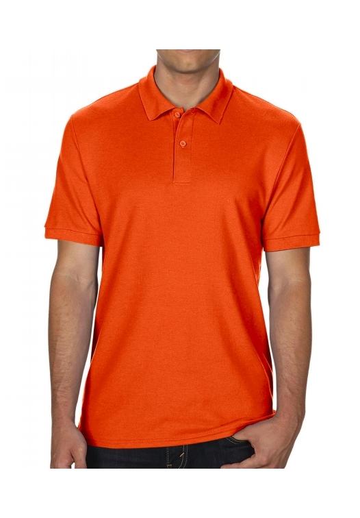 DryBlend Double Piqué Polo_orange