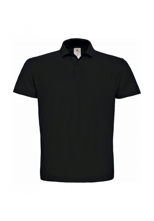Piqué Polo Shirt PUI10_black