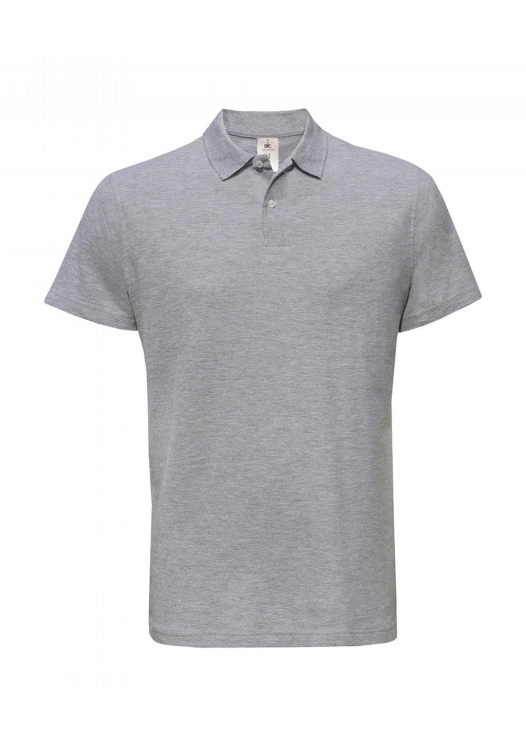 Piqué Polo Shirt PUI10_heather-grey