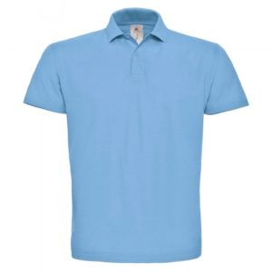 Piqué Polo Shirt_light-blue