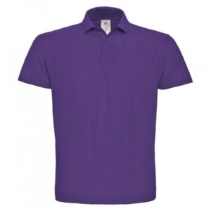 Piqué Polo Shirt PUI10_purple