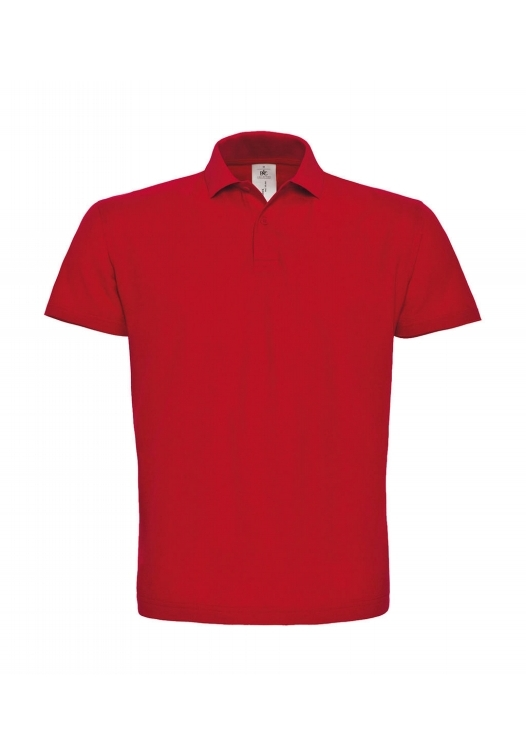 Piqué Polo Shirt PUI10_red