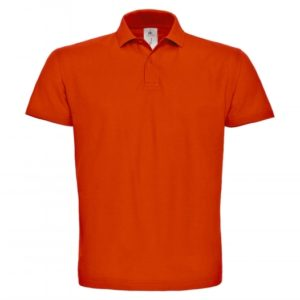 Piqué Polo Shirt PUI10_orange