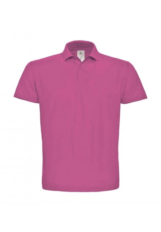 Piqué Polo Shirt PUI10_fuchsia