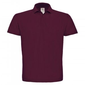 Piqué Polo Shirt PUI10_wine