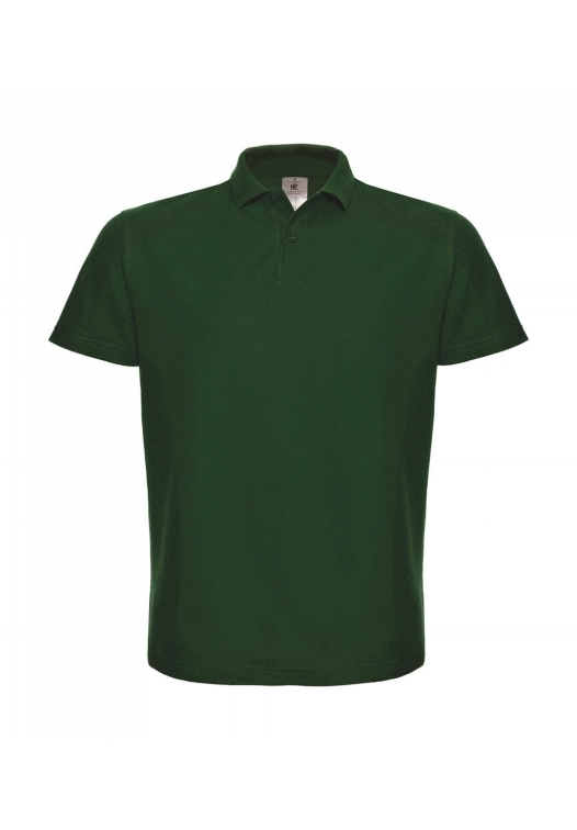 Piqué Polo Shirt PUI10_bottle-green