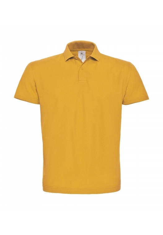 Piqué Polo Shirt PUI10_chili-gold