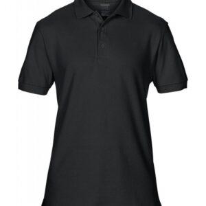 Premium Cotton Double Piqué Polo_black