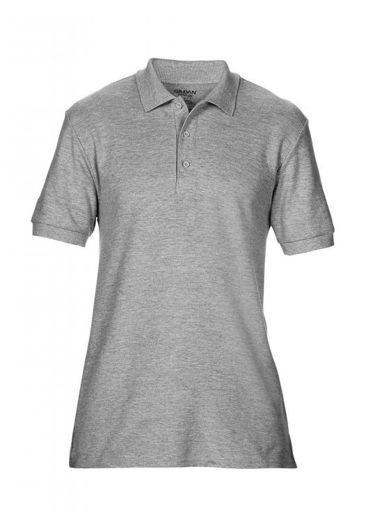 Premium Cotton Double Piqué Polo_sport-grey