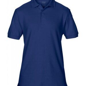 Premium Cotton Double Piqué Polo_navy