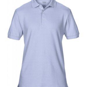 Premium Cotton Double Piqué Polo_light-blue