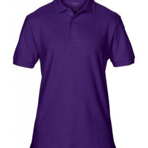 Premium Cotton Double Piqué Polo_purple