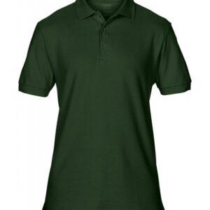 Premium Cotton Double Piqué Polo_forest-green