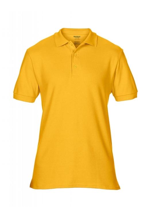 Premium Cotton Double Piqué Polo_gold