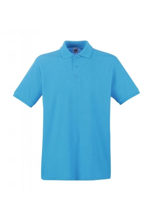 Premium Polo_azure-blue