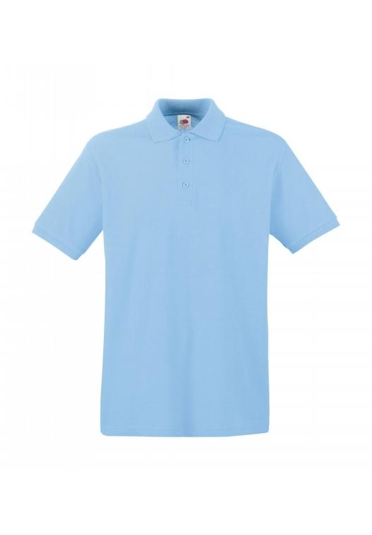 Premium Polo_sky-blue