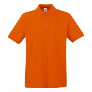 Premium Polo_orange
