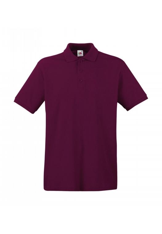 Premium Polo_burgundy