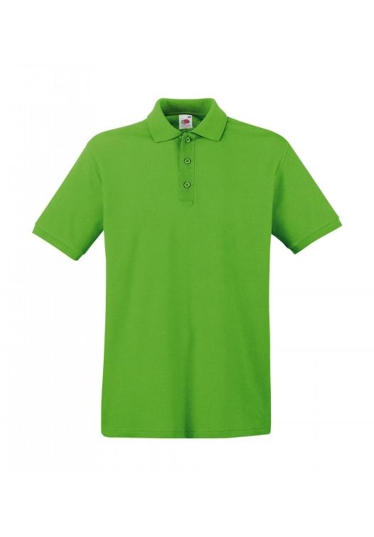 Premium Polo_lime-green