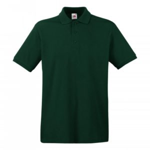 Premium Polo_forest-green