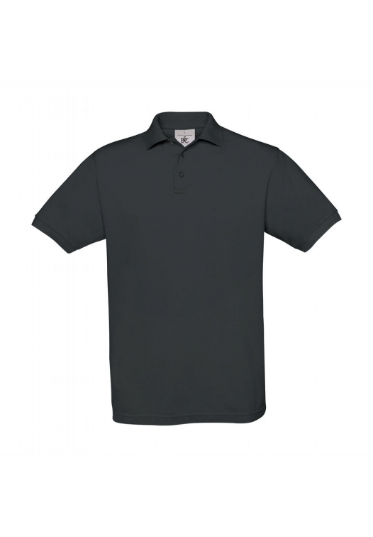 Piqué Polo Safran PU409_dark-grey