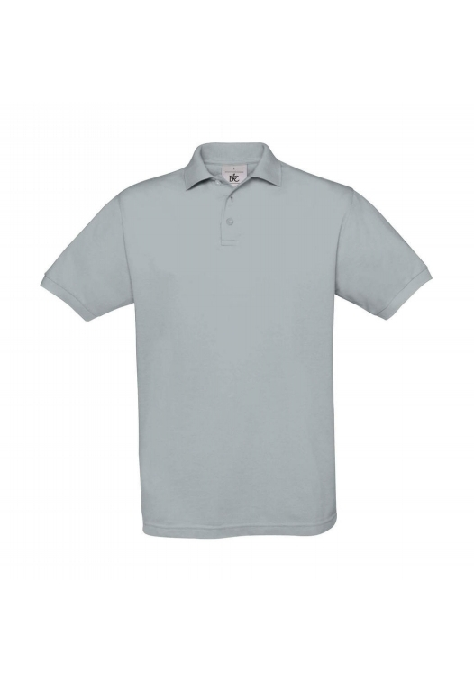 Piqué Polo Safran PU409_pacific-grey