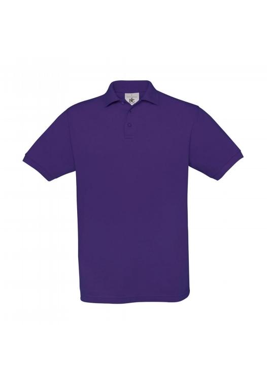 Piqué Polo Safran PU409_purple