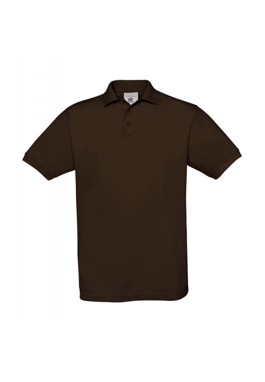 Piqué Polo Safran PU409_brown