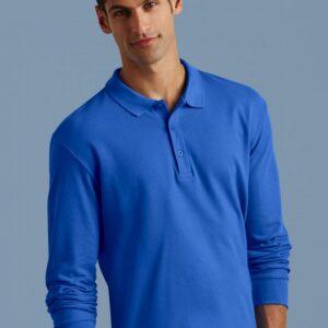 Premium Cotton Adult Double Piqué Polo LS_Titel