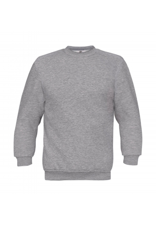 Set-In Sweatshirt WU600_heather-grey