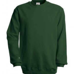 Set-In Sweatshirt WU600_Bottle-green