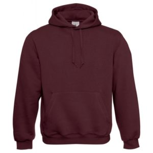 Kapuzen-Sweatshirt WU620_burgundy