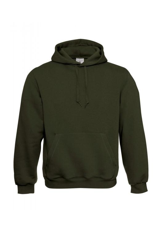 Kapuzen-Sweatshirt WU620_khaki-green