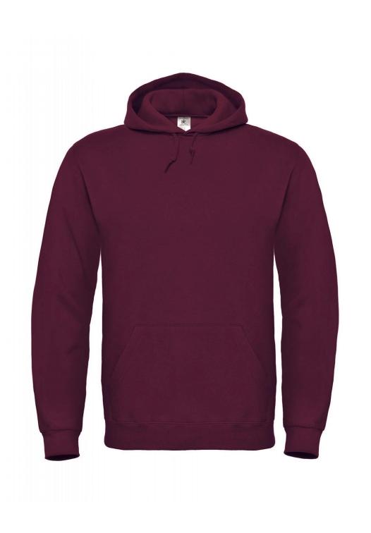 Hooded Sweatshirt WUI21_wine