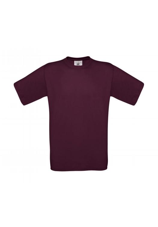 T-Shirt Exact 190_burgundy