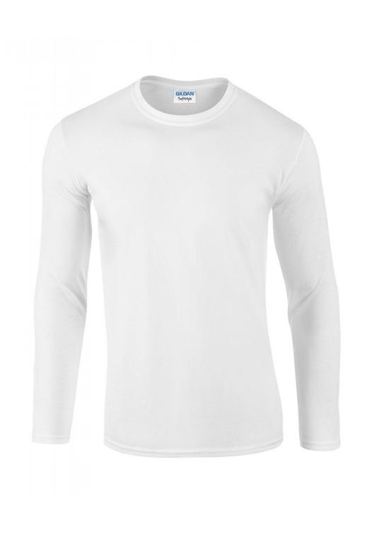 Softstyle Long Sleeve Tee_white