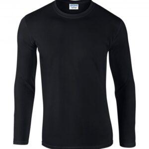 Softstyle Long Sleeve Tee_black