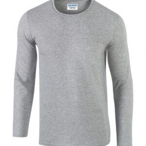 Softstyle Long Sleeve Tee_sport-grey