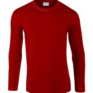 Softstyle Long Sleeve Tee_red