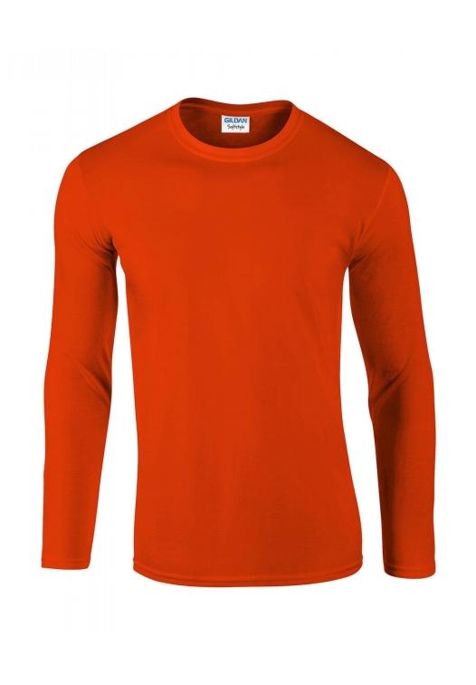 Softstyle Long Sleeve Tee_orange