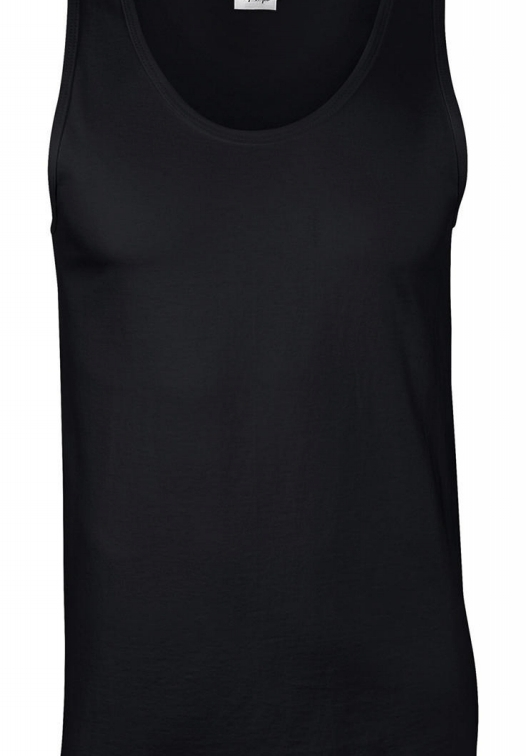 Softstyle Adult Tank Top_black