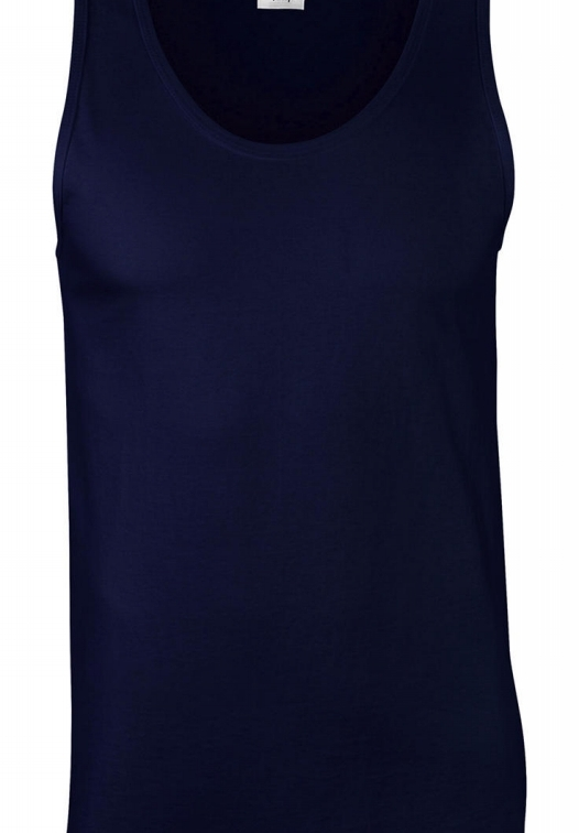 Softstyle Adult Tank Top_navy