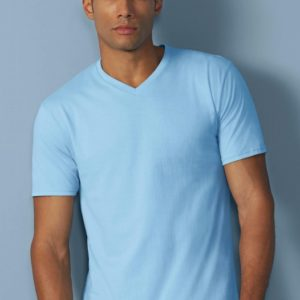 Premium Cotton Adult V-Neck T-Shirt_Titel