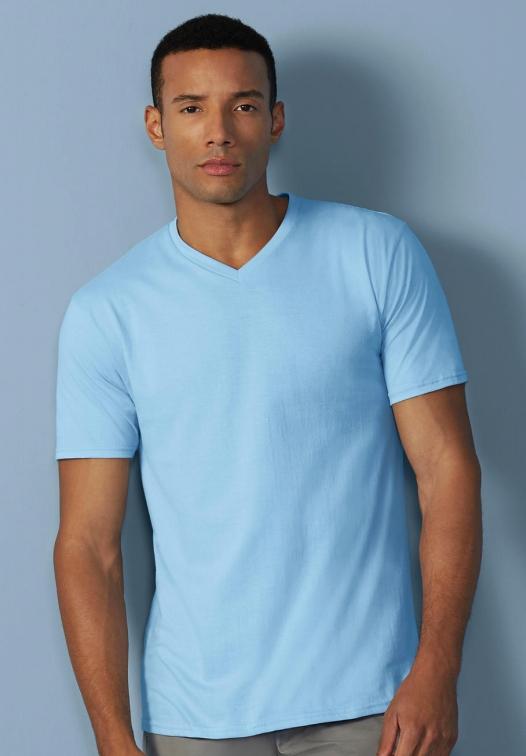 Premium Cotton Adult V-Neck T-Shirt_Titel
