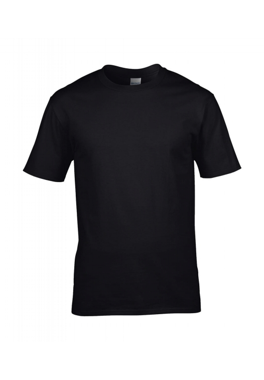 Premium Cotton Ring Spun T-Shirt_black