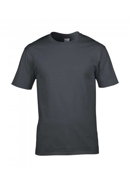 Premium Cotton Ring Spun T-Shirt_charcoal
