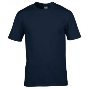 Premium Cotton Ring Spun T-Shirt_navy