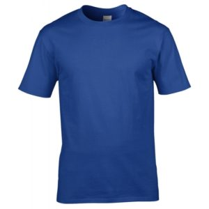 Premium Cotton Ring Spun T-Shirt_royal
