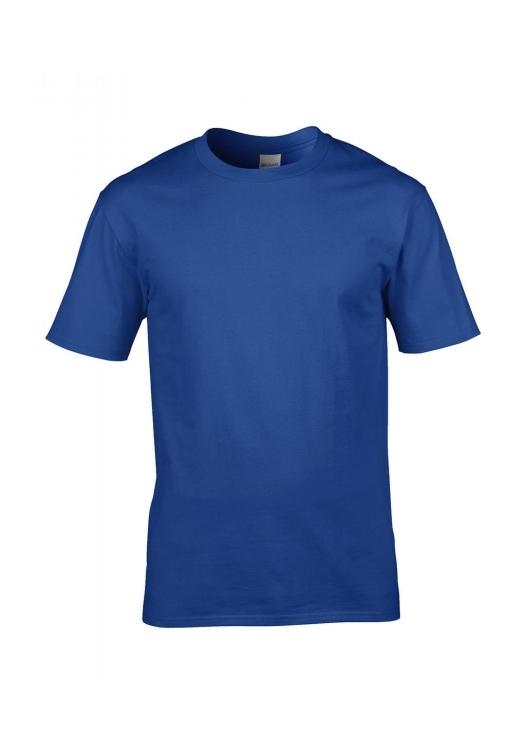 Premium Cotton Ring Spun T-Shirt_royal