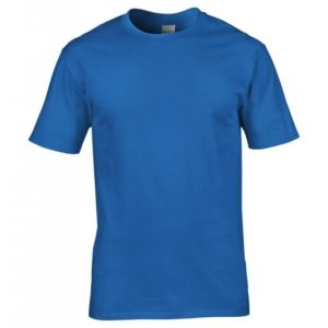 Premium Cotton Ring Spun T-Shirt_sapphire